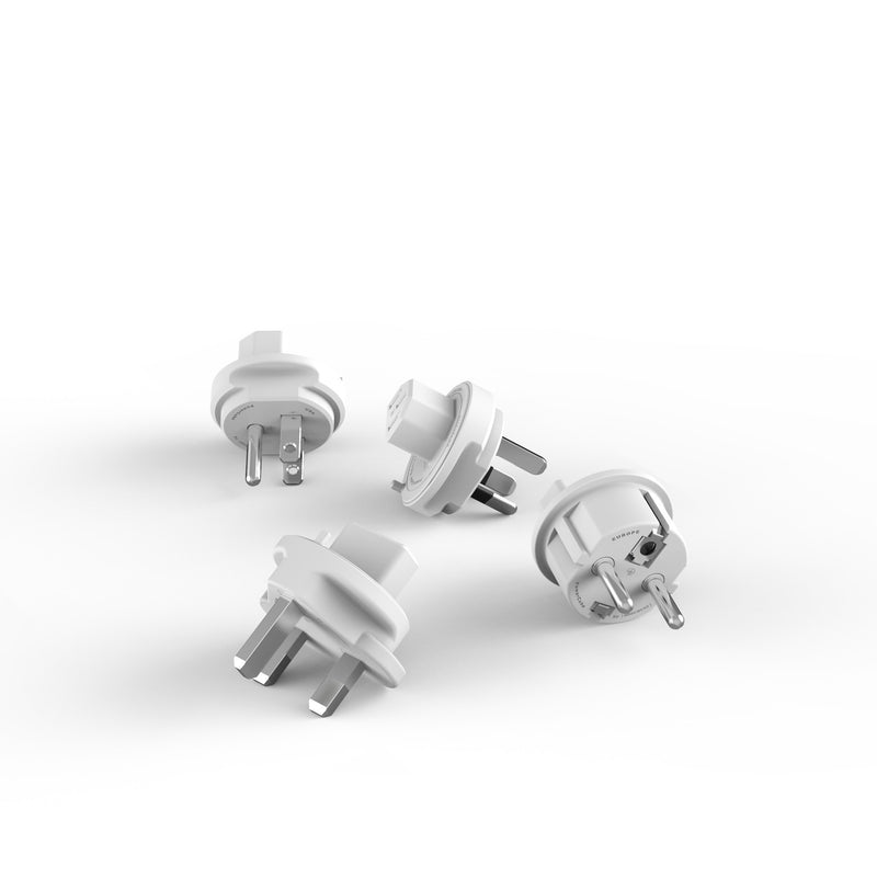 Travel Plugs x4 - Allocacoc Europe Online Store