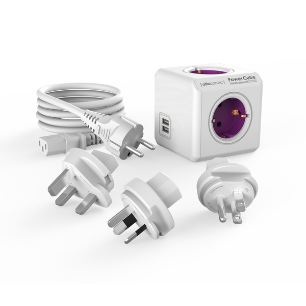 Allocacoc PowerCube® |ReWirable| USB