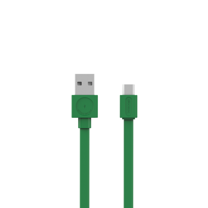 USBCable |Flat| microUSB - Allocacoc Europe Online Store