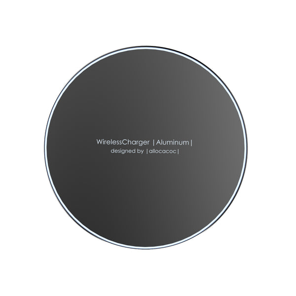 Allocacoc Wireless Charger |Aluminium|