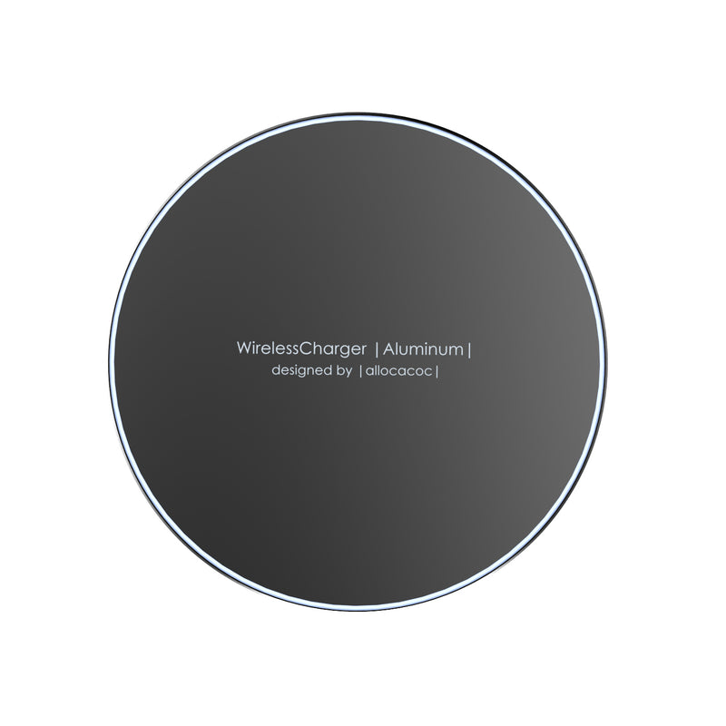 Allocacoc Wireless Charger |Aluminium| -DesignNest Europe Online Store
