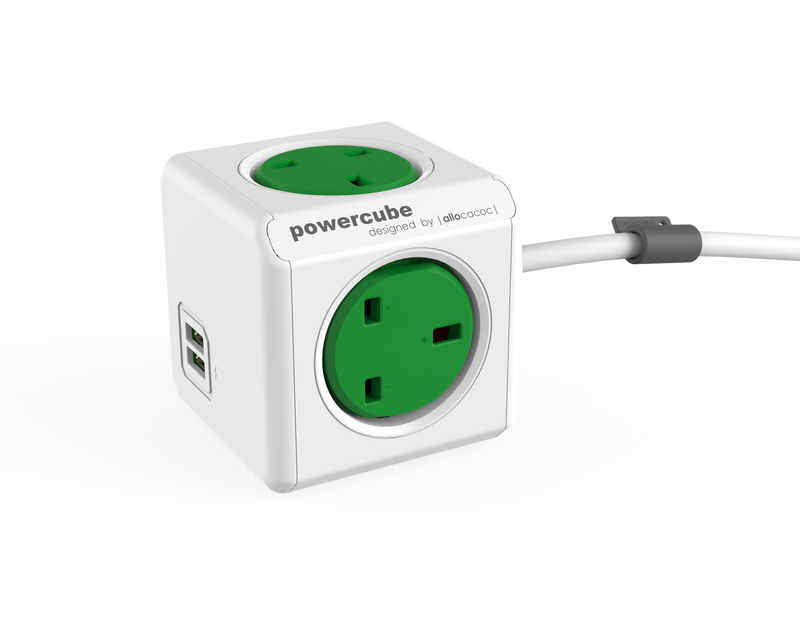 PowerCube® |Extended USB| - Allocacoc Europe Online Store