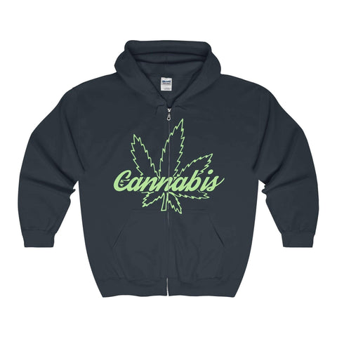 The Cannabis Zip-Up Hoodie