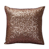 12 Solid Color Glitter Sequins Throw Pillow Case Cafe Home Cushion pillow covers paillette pillowslips quality drop ship