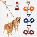 140cm Double Dog Leashes Nylon Dual Dog Leash Two Way Dog Walking Lead Leash Two in One Coupler Dog Leash Pet Supplies Dropship