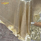 120x200cm Royal Blue/Champagne/Gold Rectangle Sequin Tablecloth For Wedding/Party/Banquet Wedding Table Cloth Decoration