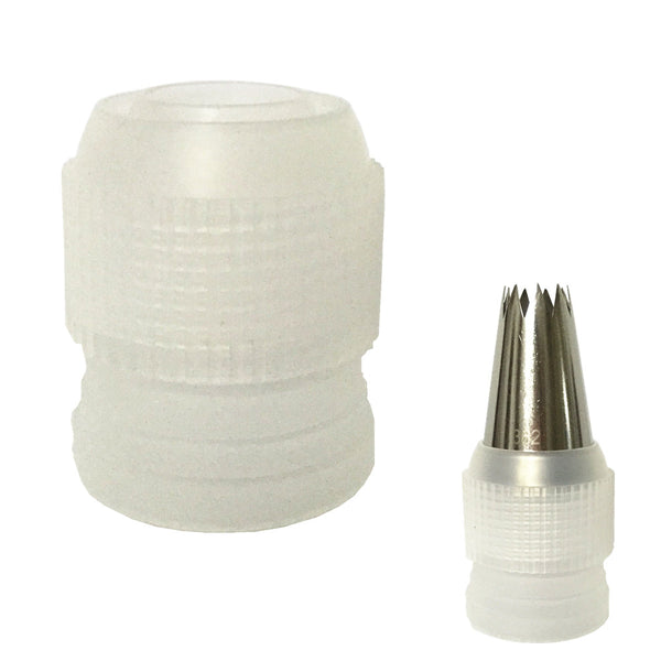 1 pcs Large Icing Piping Nozzle Converter Adapter Cream Coupler Cake Cupcake Decoration Connector Fondant Cake Decorating Tools