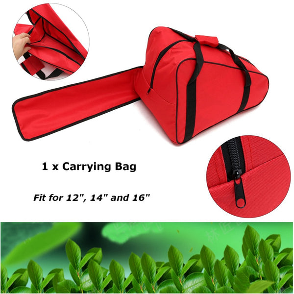 12 14 16'' Chainsaw Chain Saw Carrying Bag Case Protective Holdall Holder Box