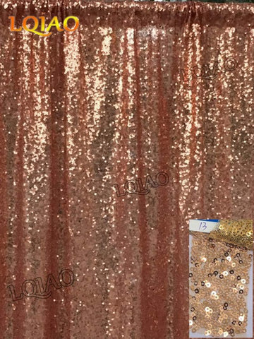Pink Gold Sequin Curtain W150xL250cm Shimmer Fabric Photography Backdrop Luxury Curtains For Bedroom Window