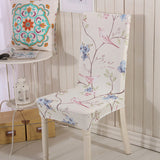 105 Colors Spandex Stretch Polyester Dining Chair Cover Restaurant for Weddings Banquet Folding Hotel Chair Covering 1pc