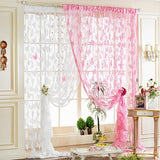 195cm*100cm Multi Function Living Room Door Blind Window Curtain Butterfly Pattern Tassel String Room Curtains MA877366