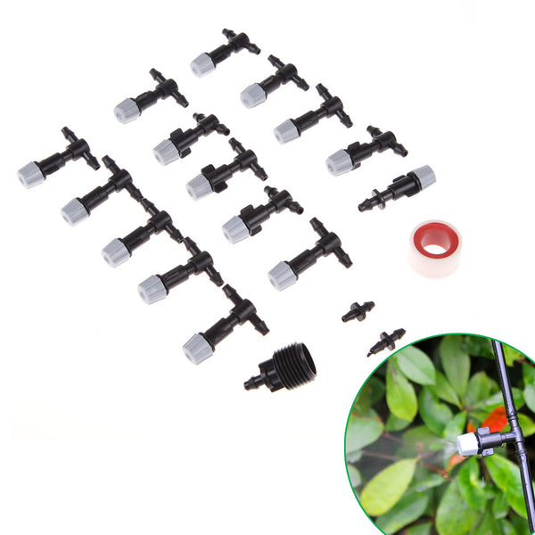 10M Micro Irrigation Sprinkler Garden Watering Cooling Mist for Garden Plants Irrigation Sprinklers Spray Nozzles