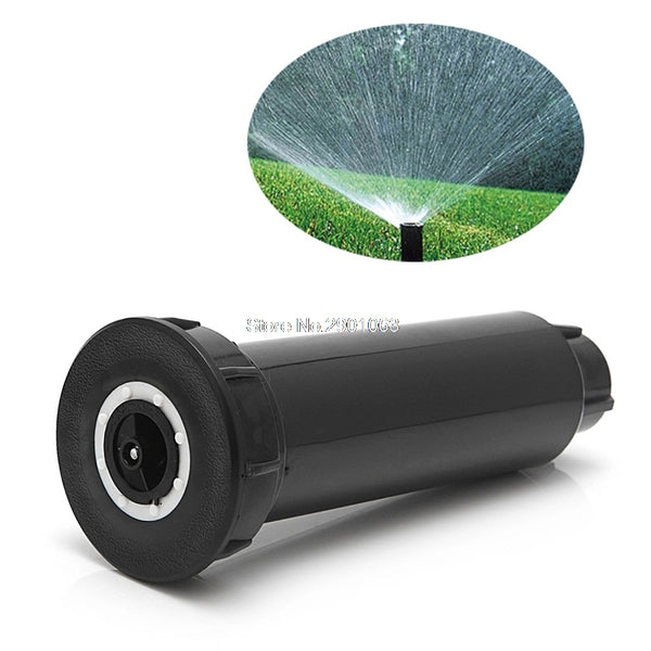 "1/2"" Adjustable Plastic Pop Up Sprinklers 25-360 Degree Popup Lawn Irrigation Watering Sprinklers H06"