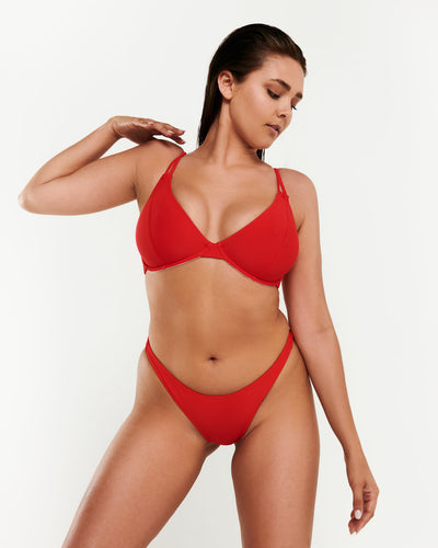 Multi-Way Top - Red