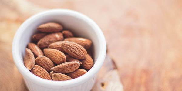 Healthy snack hungry almonds cashews walnuts anxiety relief remedy