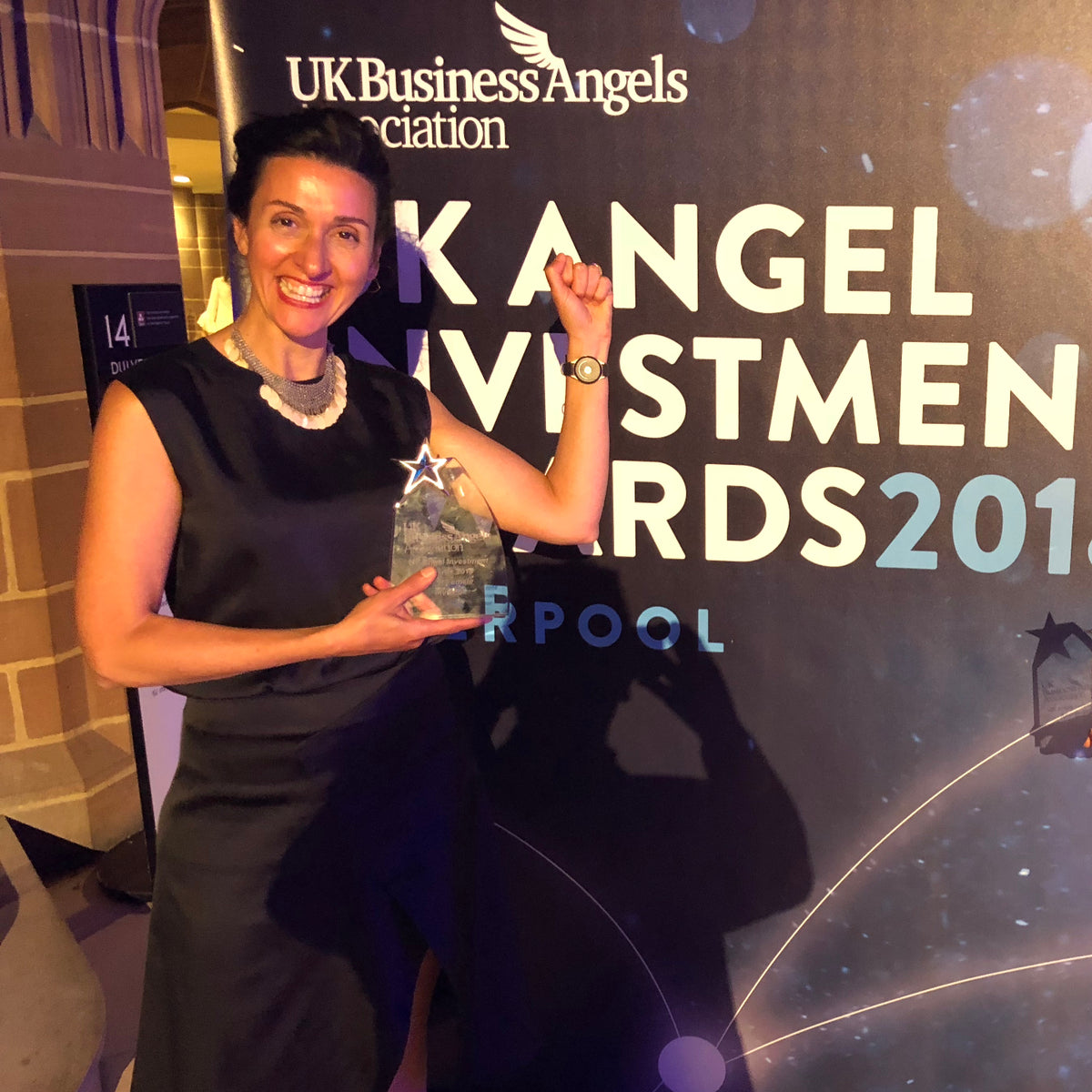 doppel wins best Female-Led Investment at the UKBAA Angel Investment Awards