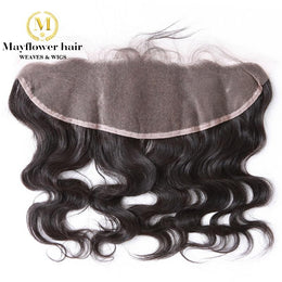 "Malaysian Hair Lace Frontal Closure 13""X 4"""