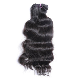Raw Indian Curly Virgin Hair Weave