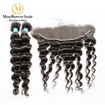 2 Bundles Malaysian Hair With Frontal