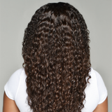 "13x6"" Transparent Curly Lace Front Wig"