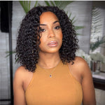 Funmi Pixies Curl Customized Closure Bob Wig