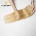 Blonde Indian straight Hair Weave