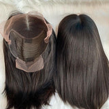 "Customized Vietnamese Hair 13x4"" Frontal Bob Wig"