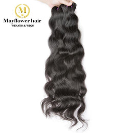 3 Bundles Raw Indian Wavy Temple Hair Deals