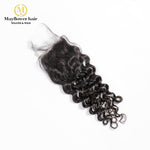 "4X4"" Virgin hair Italian curl Closure"