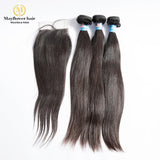 Virgin Straight hair with closure