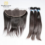 3 Bundles Malaysian Hair With Frontal