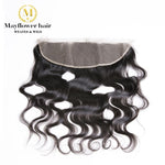 "Raw Indian Hair Frontal 13""X 4"""