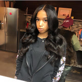 "3 Bundles Malaysian Hair With  4X4"" Closure"