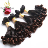 Funmi Hair Spring Curl Ombre Color T1b/4