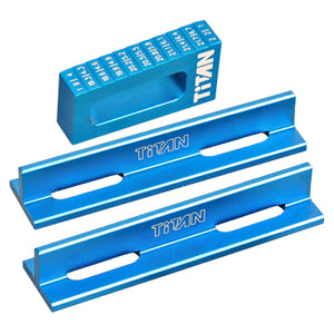 TEAM TITAN SETUP TC DROOP GAUGE SET BLUE 30113c