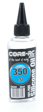 CR205 - CORE R/C Silicone Oil - 350 cSt - 60ml