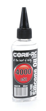 CR218 - CORE R/C Silicone Oil - 4000 cSt - 60ml