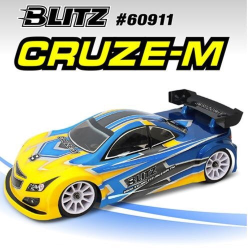 Blitz - 60911-0.8 - Cruze-M 1/10 Mini 0.8mm Body Shell