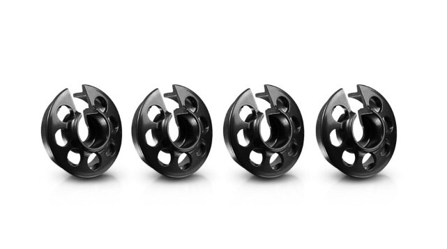 ARC Black Alloy  Spring Retainers...from Torque RC
