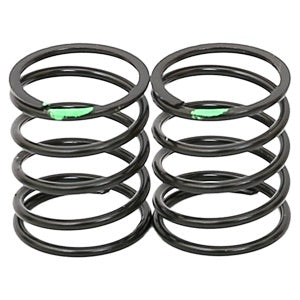 ARC R107043  Shock Spring Short 0.28g Green (2pcs)