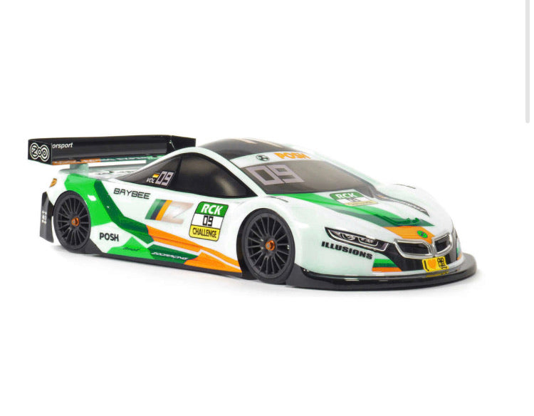 Zooacing Baybee Standard Weight 0.7mm Touring Car Body 1/10 Electric Touring Car Racing 190mm