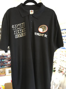 TORQUE RC POLO BLACK - M
