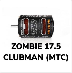 TEAM ZOMBIE 17.5t CLUBMAN SPEC BRUSHLESS MOTOR (MTC LEGAL)