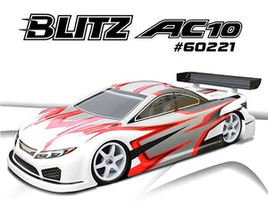 BLITZ AC10 ULTRA LIGHTWEIGHT BODY SHELL 190MM 0.5MM