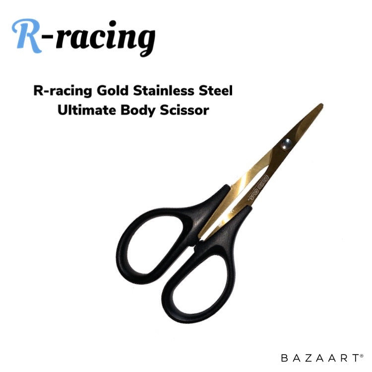 R-racing Gold Stainless Steel Ultimate Body Scissor