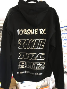 TORQUE RC HODDIE BLACK - XL