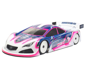 ZooRacing Hellcat Standard Weight 0.7mm 190mm Touring Car Bodyshell