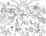 Fun and Whimsical Vol 2 Adult Coloring Book by Jake Hose