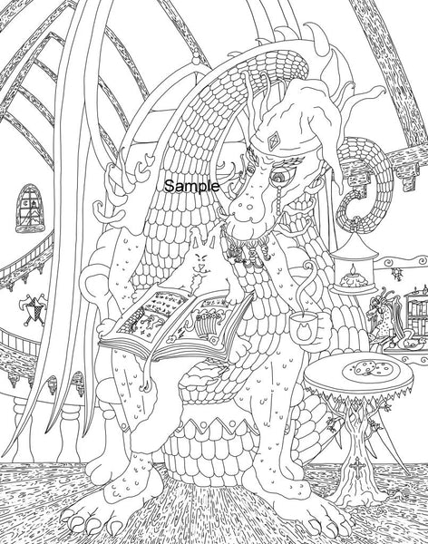 Fun And Whimsical Vol 1 Adult Coloring Book By Jake Hose - Adult Coloring Book Art Fun