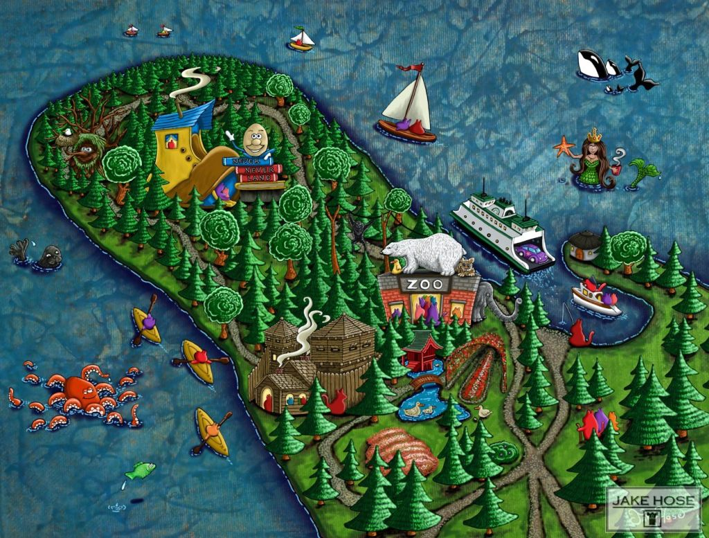 Point Defiance Park, zoo, tacoma, fort nisqually, art, whimsical, Jake hose